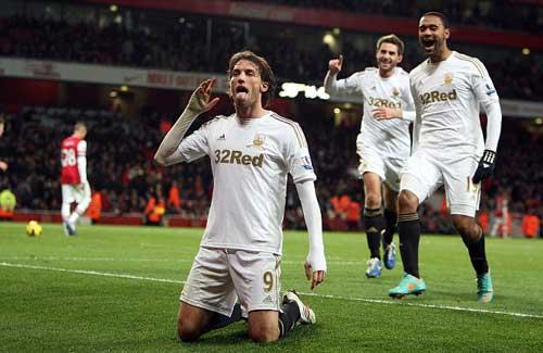 Swansea- Arsenal: Nợ khó trả - 2