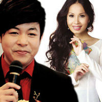 Cẩm Ly run cầm cập khi hát cùng Quang Lê