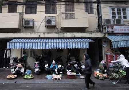 """Những """"chợ quê"""" kỳ quặc giữa đất Thủ đô - 7"""