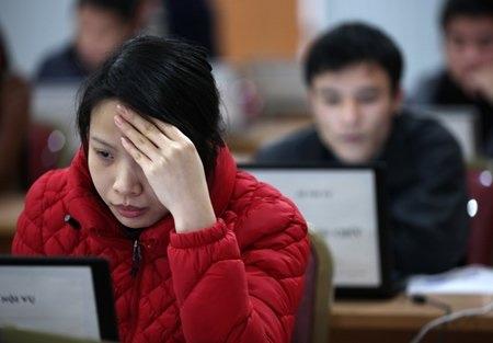 Hơn 300 thí sinh thi trực tuyến vào Bộ Nội vụ - 7