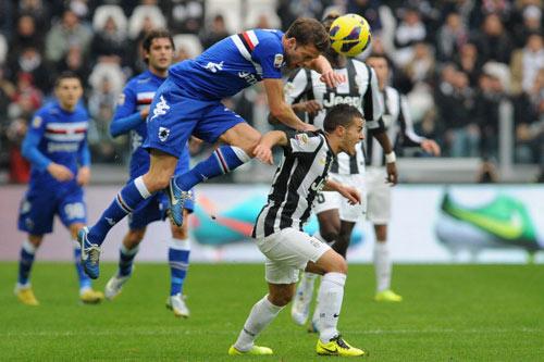 Juve - Sampdoria: Cái tát đau đớn - 1