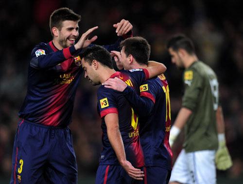 Barca - Espanyol: Như đá tập - 1