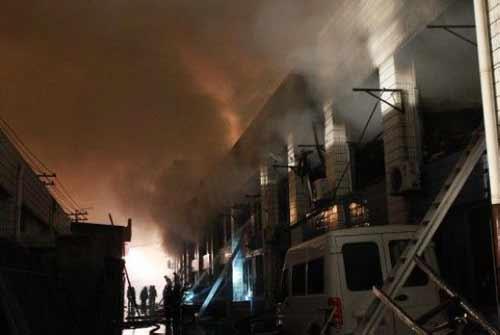 TQ: Cháy lớn ở Thượng Hải, 6 người chết - 1