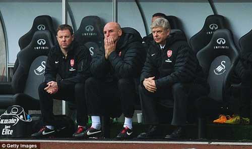 Wenger lo sợ về lịch thi đấu dày đặc - 1