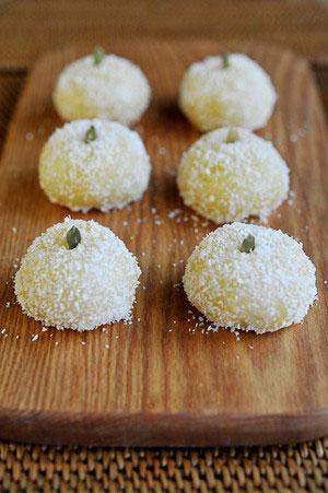 Bánh nếp dừa nhân đậu xanh làm không khó - 13