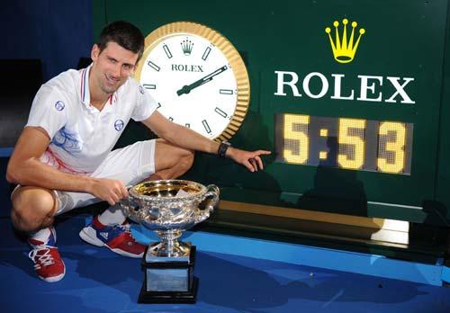 Federer là hạt giống số 2 tại Australian Open 2013 - 1