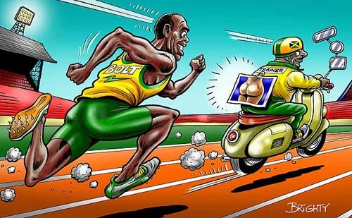 """Usain Bolt phá kỷ lục nhờ ảnh """"nude"""" - 3"""