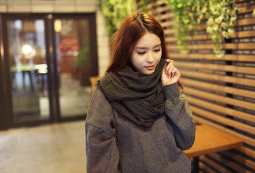 Cách đeo khăn sành điệu ngày đại hàn - 2