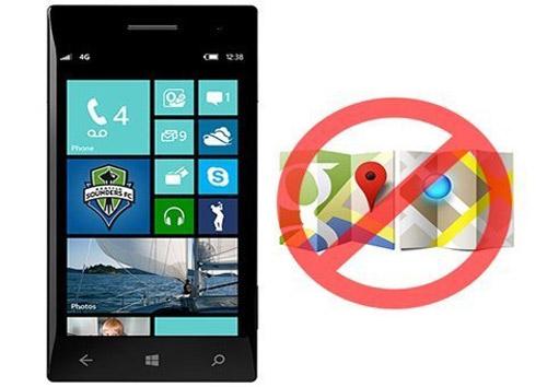 Google Maps bị chặn trên Windows Phone - 1