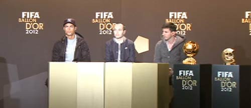 QBV FIFA 2012: Lại là Messi! - 4