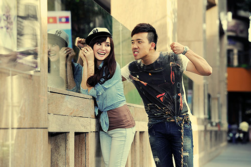 Trấn Thành, Vy Oanh làm MC Cặp đôi hoàn hảo - 4