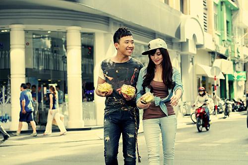 Trấn Thành, Vy Oanh làm MC Cặp đôi hoàn hảo - 6