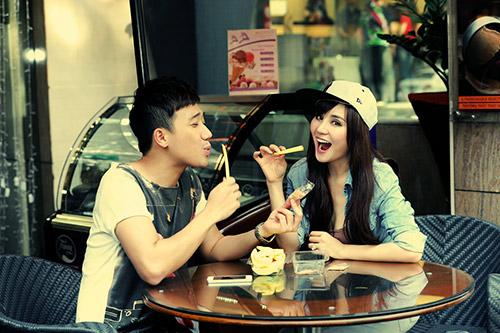 Trấn Thành, Vy Oanh làm MC Cặp đôi hoàn hảo - 7