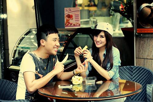 Trấn Thành, Vy Oanh làm MC Cặp đôi hoàn hảo - 8