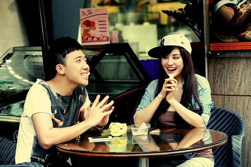Trấn Thành, Vy Oanh làm MC Cặp đôi hoàn hảo - 9