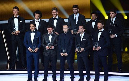Đội hình xuất sắc nhất năm: FIFA quên Premier League - 1