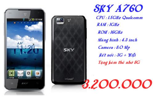 """""""Bùng nổ"""" Sky A760, A770 cấu hình mạnh giá siêu rẻ! - 1"""