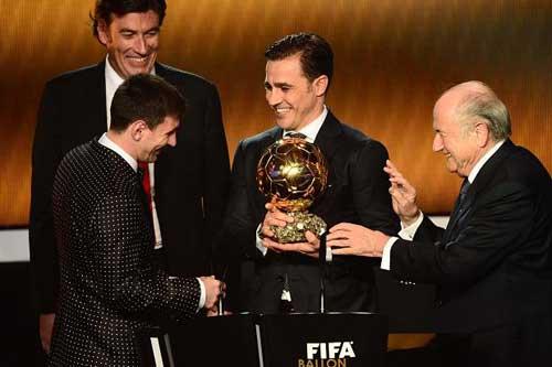 Messi sẽ giành QBV thứ 5 liên tiếp - 1