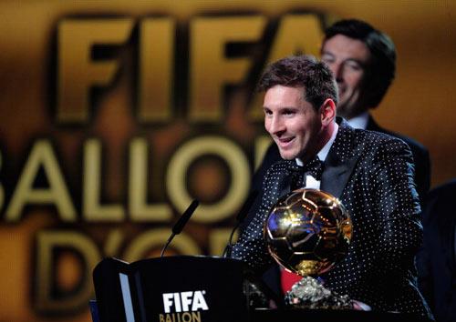 QBV FIFA 2012: Huyền thoại Messi - 2