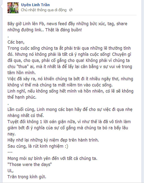Tranh cãi gay gắt sau scandal Uyên Linh - 3