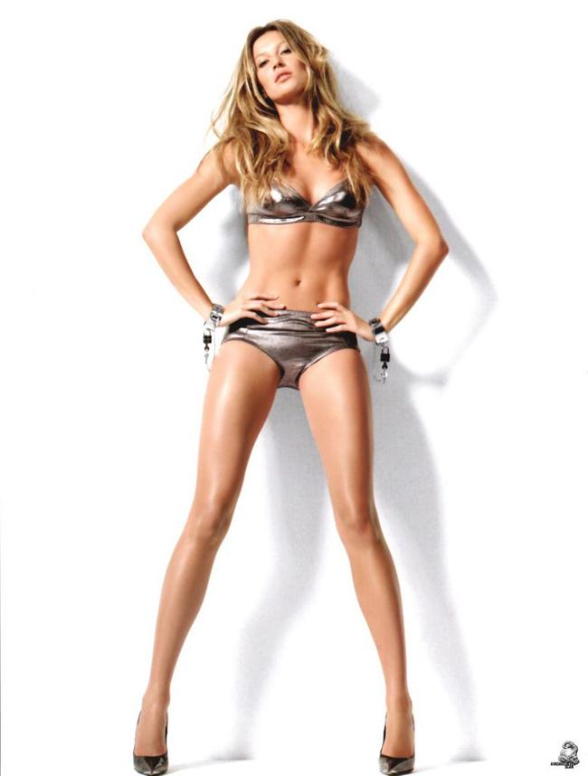 Từng  là siêu mẫu trụ cột của hãng đồ lót danh tiếng Victoria Secret trong  vòng 7 năm, đến khi chấm dứt hợp đồng vào năm 2007, Gisele vẫn kiếm được  khoản tiền kếch xù nhờ vào đôi chân và tài kinh doanh của mình. Cô là   gương mặt vàng  cho những hợp đồng quảng cáo từ Mỹ cho đến Châu Âu,  Châu Á, Châu mỹ. Từ H & amp;M cho đến Dior, Versace.