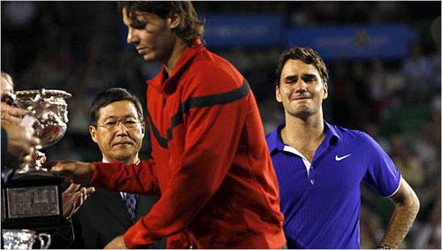 Ký ức Australian Open: Federer rớt lệ vì Nadal - 1
