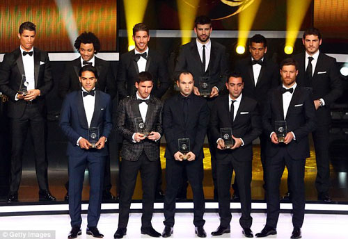 Đội hình tiêu biểu: Trò hề của FIFA - 1