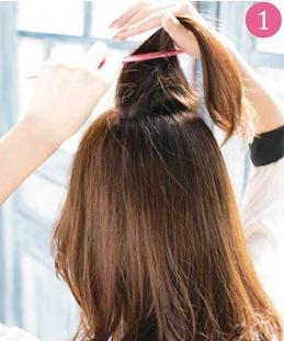 Tự tạo kiểu tóc đẹp chỉ với 3 phút - 2