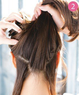 Tự tạo kiểu tóc đẹp chỉ với 3 phút - 3