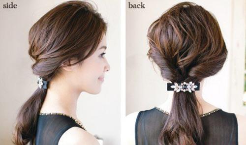 Tự tạo kiểu tóc đẹp chỉ với 3 phút - 10