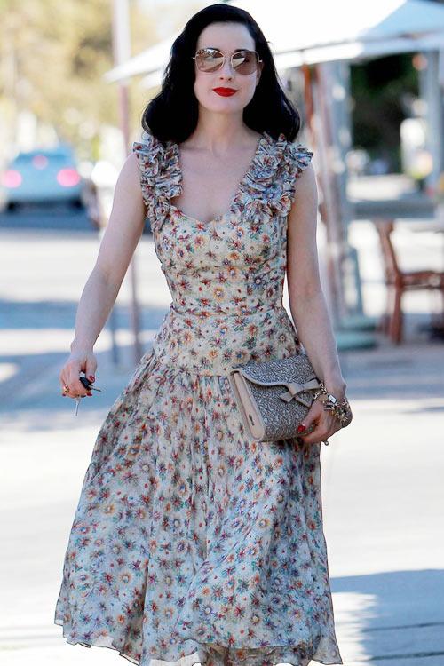 4 ẩn số thời trang của Dita Von Teese - 5