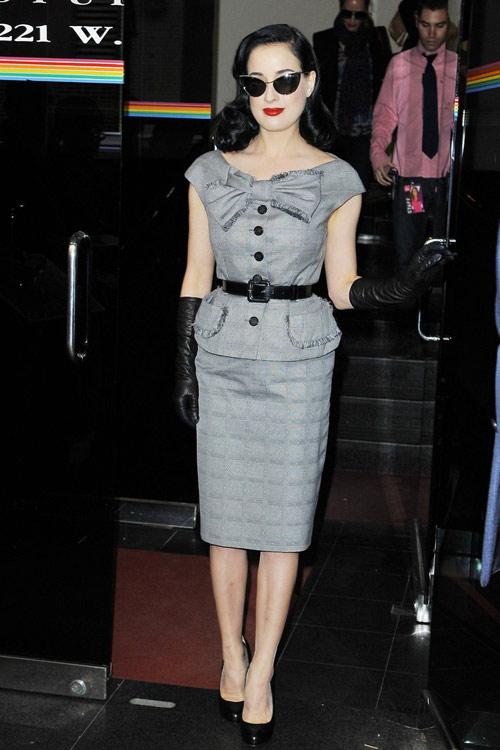 4 ẩn số thời trang của Dita Von Teese - 8