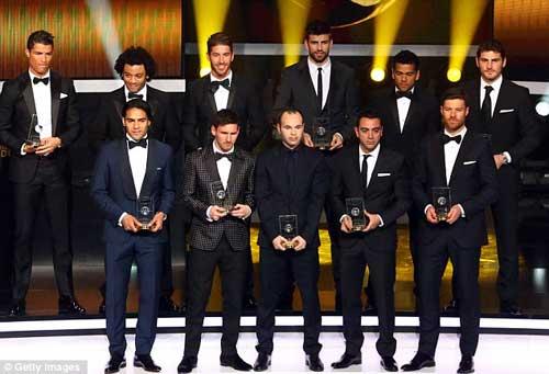 """Đội hình NHA """"đấu"""" đội hình FIFA–LaLiga - 2"""