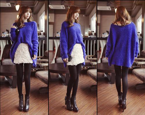 Đa phong cách với áo len ngày lạnh - 17