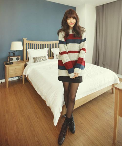 Đa phong cách với áo len ngày lạnh - 3
