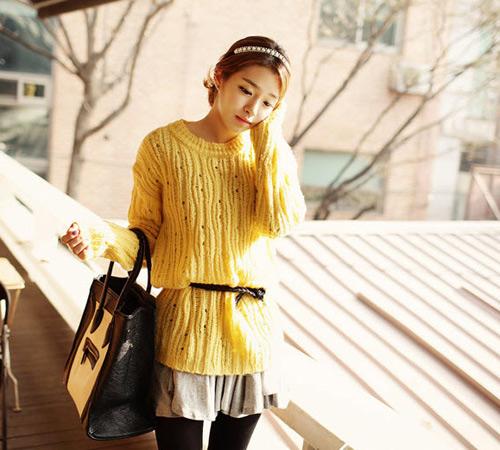 Đa phong cách với áo len ngày lạnh - 14
