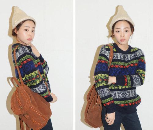 Đa phong cách với áo len ngày lạnh - 7