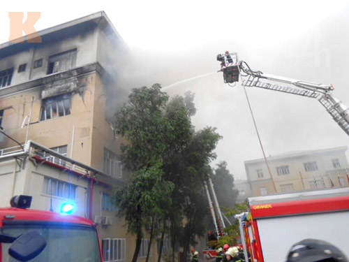 TP.HCM: Cháy kinh hoàng tại khu chế xuất - 6
