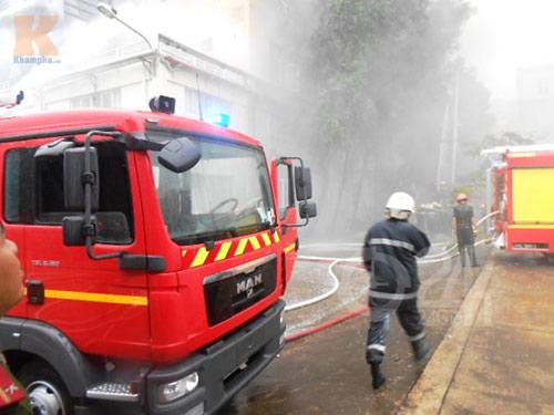 TP.HCM: Cháy kinh hoàng tại khu chế xuất - 8
