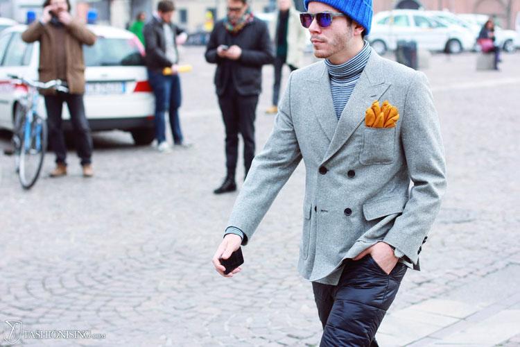 Мужская Мода Пиджаки
