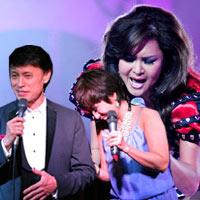 3 anh em Tuấn Ngọc hát cùng nhau