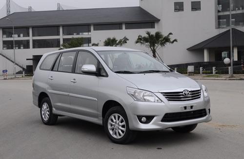 10 mẫu ô tô bán chạy nhất Việt Nam 2012 - 3