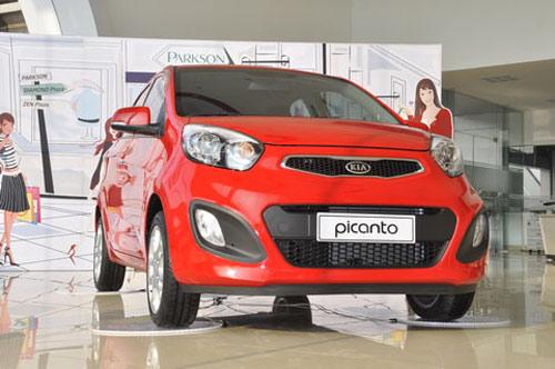 10 mẫu ô tô bán chạy nhất Việt Nam 2012 - 5