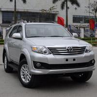 10 mẫu ô tô bán chạy nhất Việt Nam 2012