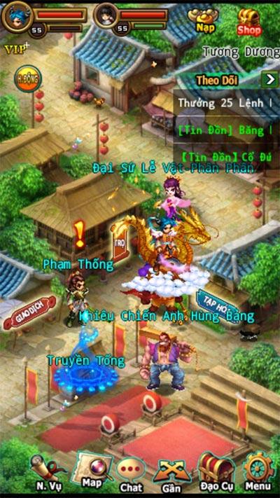 Đông Phương Hiệp - Game online dành cho iPhone - 3