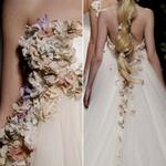 Thời trang - Phác họa thời trang cưới 2013
