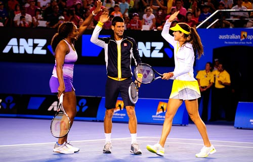 Australian Open: Djokovic&Serena nhảy ngựa - 8
