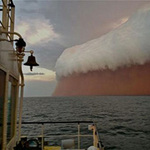 Tin tức trong ngày - Chùm ảnh: Bão cát kinh hoàng ở Australia