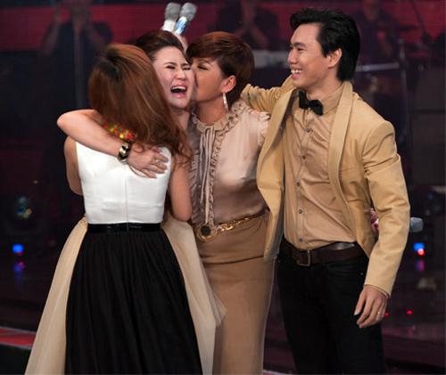 Hương Tràm đăng quang quán quân The Voice - 1