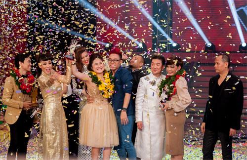 Hương Tràm đăng quang quán quân The Voice - 8